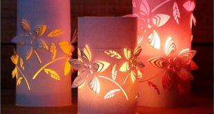 DIY Paper Night Light