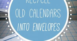 How to Recycle Your Old Calendar into Vibrant Stationery