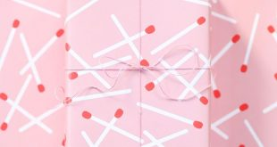 Matchstick Valentine's Day Free Printable Gift Wrap // download, print, and ...