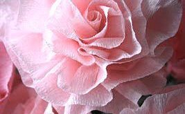 How to Make Pretty Crepe Paper Flowers
