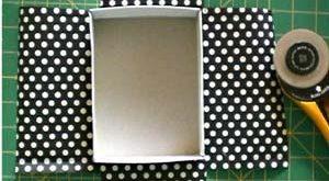 pretty papered box