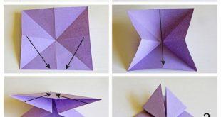 Basteln Sie mit Papierschmetterlingen! Dekorationen machen!