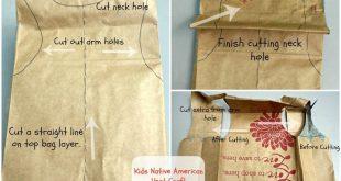 Kids Native American Vest Craft