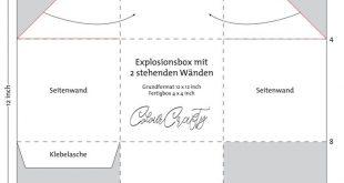 Tipps zum Bau einer Explosionsbox mit stehenden Wänden