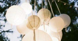 Backyard party elegant paper lanterns 63 Super ideas
