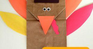 32+ Brown Paper Bag Turkey Craft