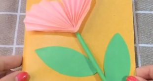 3D Flower Greeting Card Making Idea - DIY - ✰A Fashion Star✰