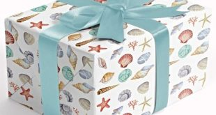 Coastal Gift Wrapping Papers