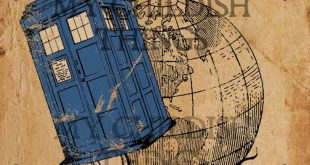 Doctor Who - Tardis Vintage Style Poster - Multiple Sizes 5x7, 8x10, 11x14, 16x20, 18x24, 20x24, 24x36