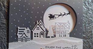 Elegante Stampin Up!, Weihnachten, Schmiegen kommen nachdem Hause