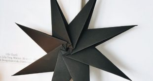 How to Make a Nordic Origami Star