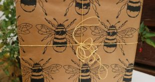 Indian Wooden Printing Block- Large Bee