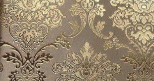 LT6-60407 Fashion European Modern Style Wall Paper, Luxury vinyl gold foil , gold decorative pattern background wallpaper