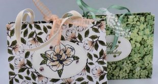 Large Fold Flat Designer Series Paper Bag