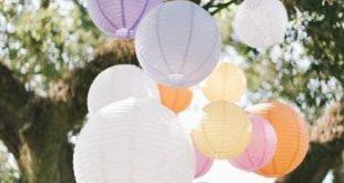New Backyard Wedding Colors Paper Lanterns 46+ Ideas