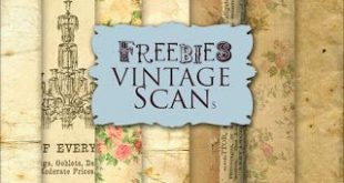 New Freebies Background Kit in Vintage Paper:Far Far Hill - Free database of dig...