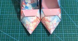 Origami Cute Shoes✰A Fashion Star✰#DIY