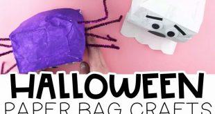 Paper Bag Halloween Crafts for Kids