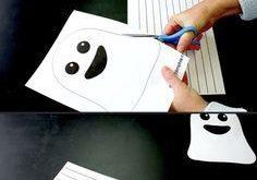 Paper Ghost Picture - Make Film Play Erstelle dieses gruselige Geisterbild aus P...