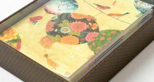 Paper Lanterns & Birds Boxed Notes (Set of 12)