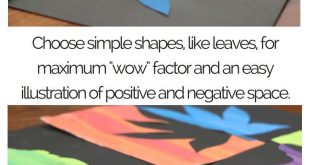 Positiver und negativer Raum können schwierig zu lehrende Konzepte sein. Die ja...