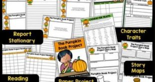 Pumpkin Book Projects