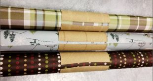 Quick Wrapping Paper Storage Tip