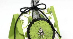 Themenwoche Halloween – Dreieckige Box - mit Produkten von Stampin' Up!