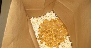 Thrifty Recipe- Caramel Popcorn in a bag