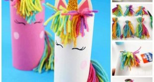 Toilet Paper Roll Unicorn for Preschoolers