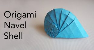 Tutorial for Origami Navel Shell (Tomoko Fuse)