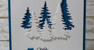 Weihnachtskarten - Weihnachtskarte - ein Designerstück von Sollnuschka bei DaWa...