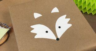 Woodland Animal Gift Wrap – Paper Premise #Füchse