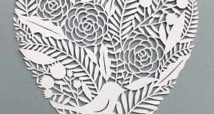 a creative blog: how to make decorations with paper, diy, handmade projects, rec...