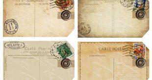 acht Geschenkanhänger aus Antike und alte von boxesbybrkr auf Etsy, $3.75