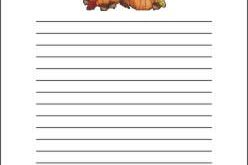 give thanks stationery | Download Free Printable Thanksgiving Writing Paper :
